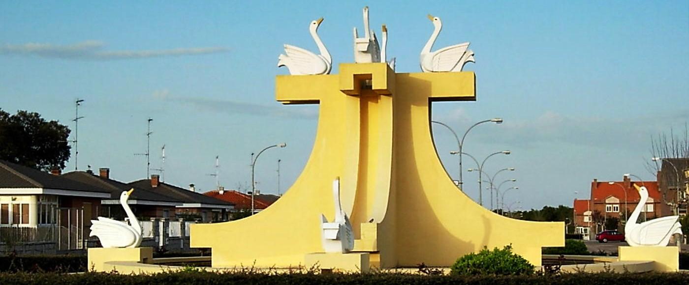 Fuente entrada de la Urbanización Los Cisnes