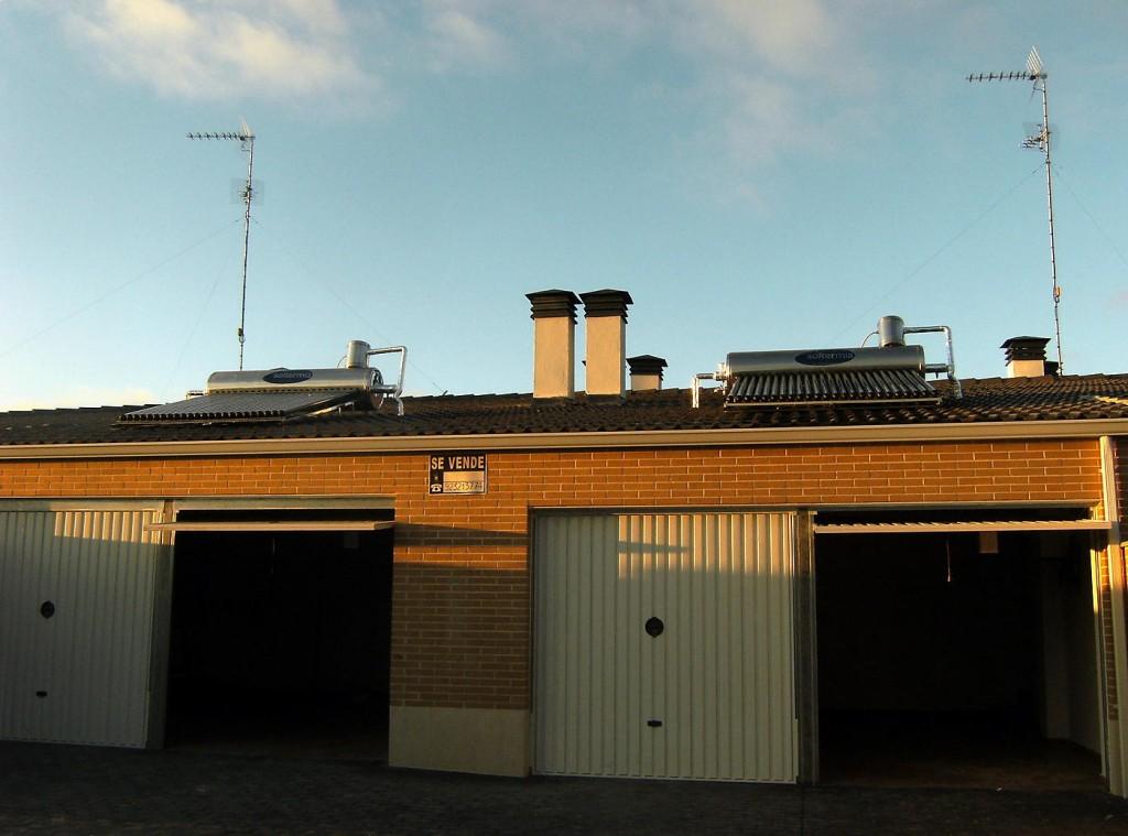 Garajes e instalación solar
